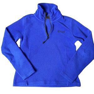 Girls / boys Rip Curl royal blue fleece pullover